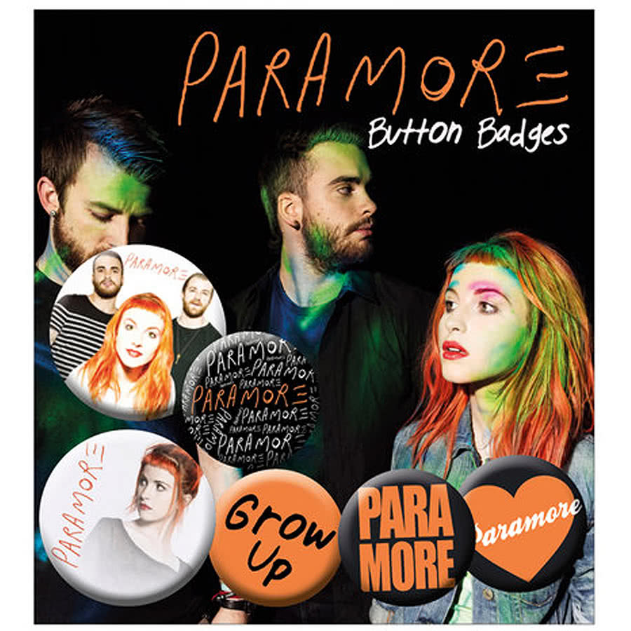 Paramore Badge Set