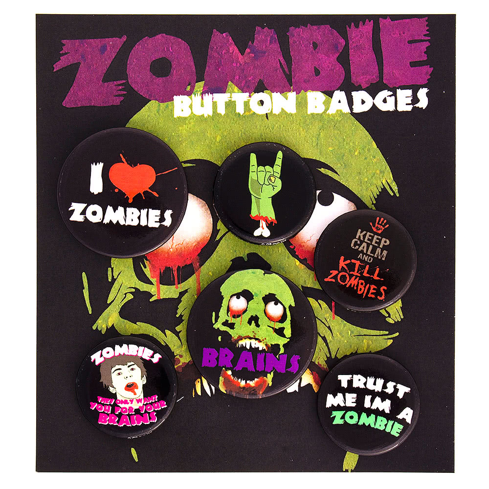 Zombie Badge Set