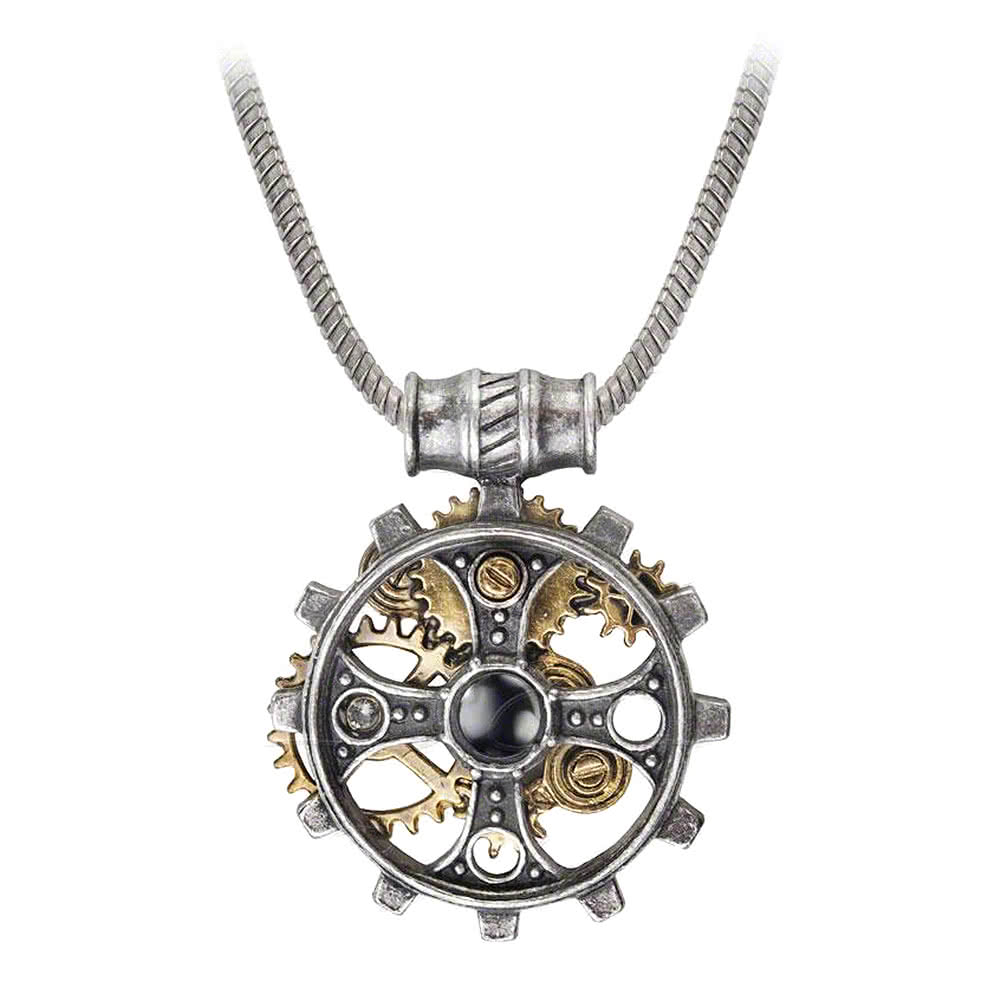 Alchemy Foundryman's Ring Cross Pendant