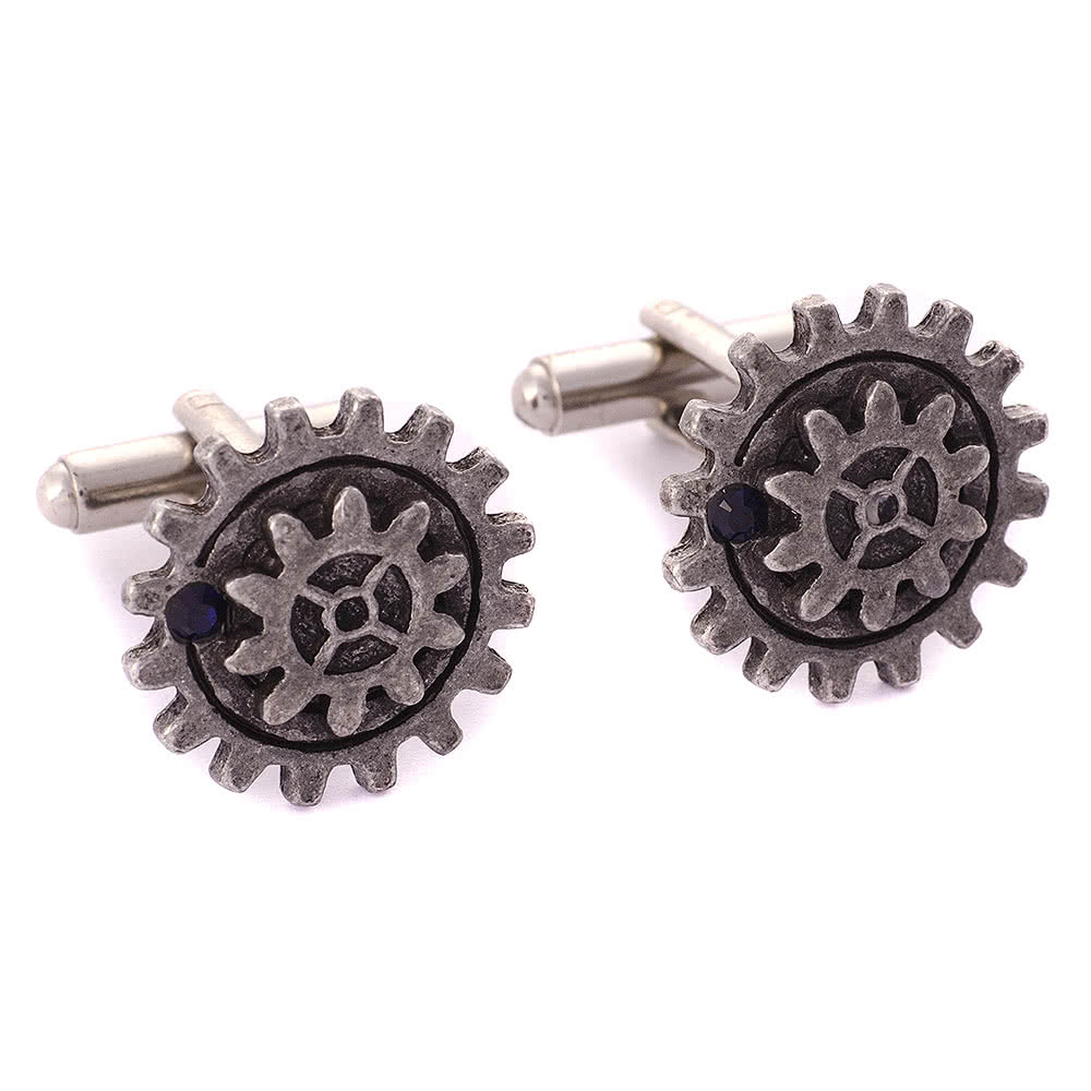 Alchemy Empire Spur Gear Cufflink