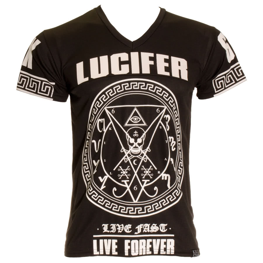 Kill Star Lucifer Hockey Top (Black)