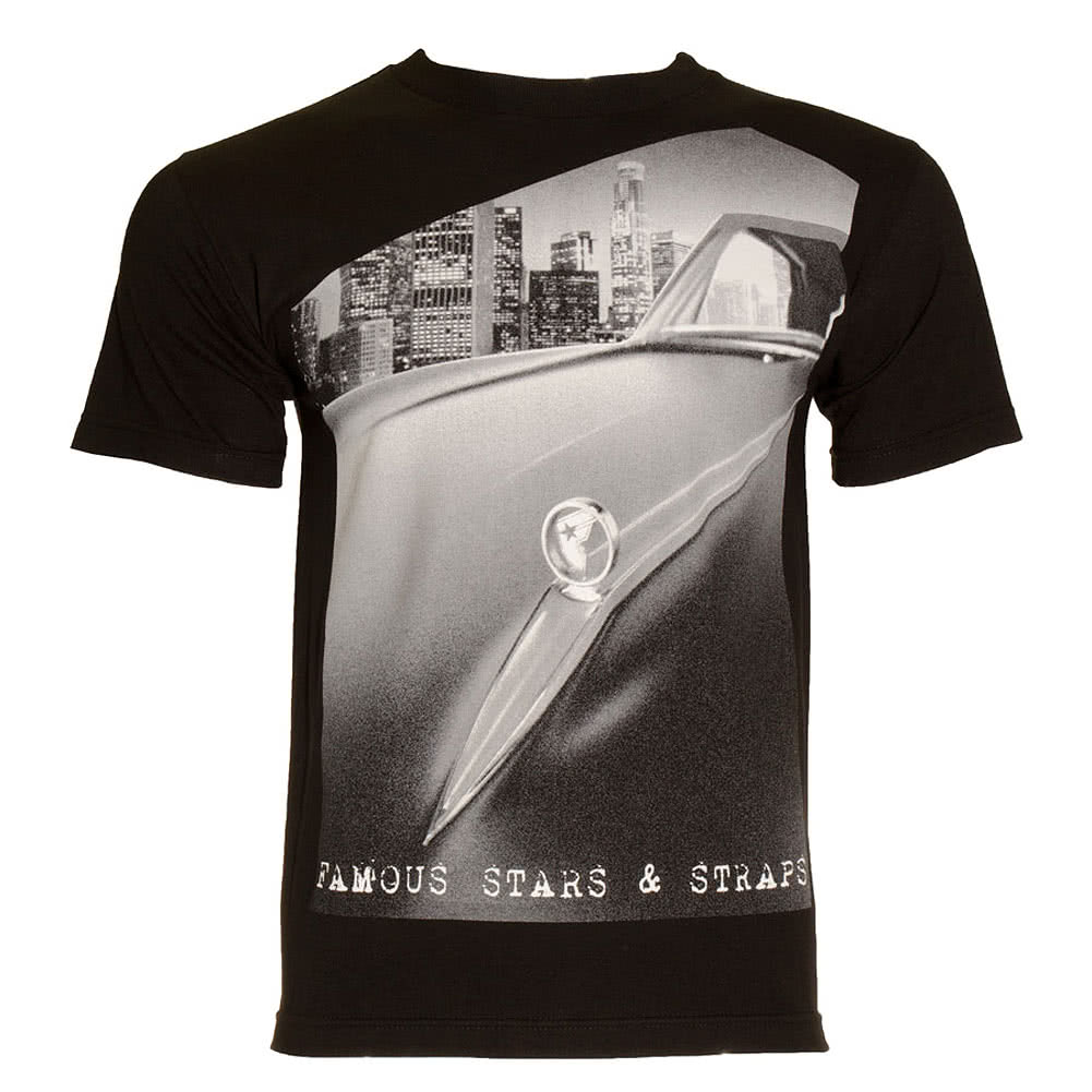 Famous Stars & Straps Ride T Shirt (Black)