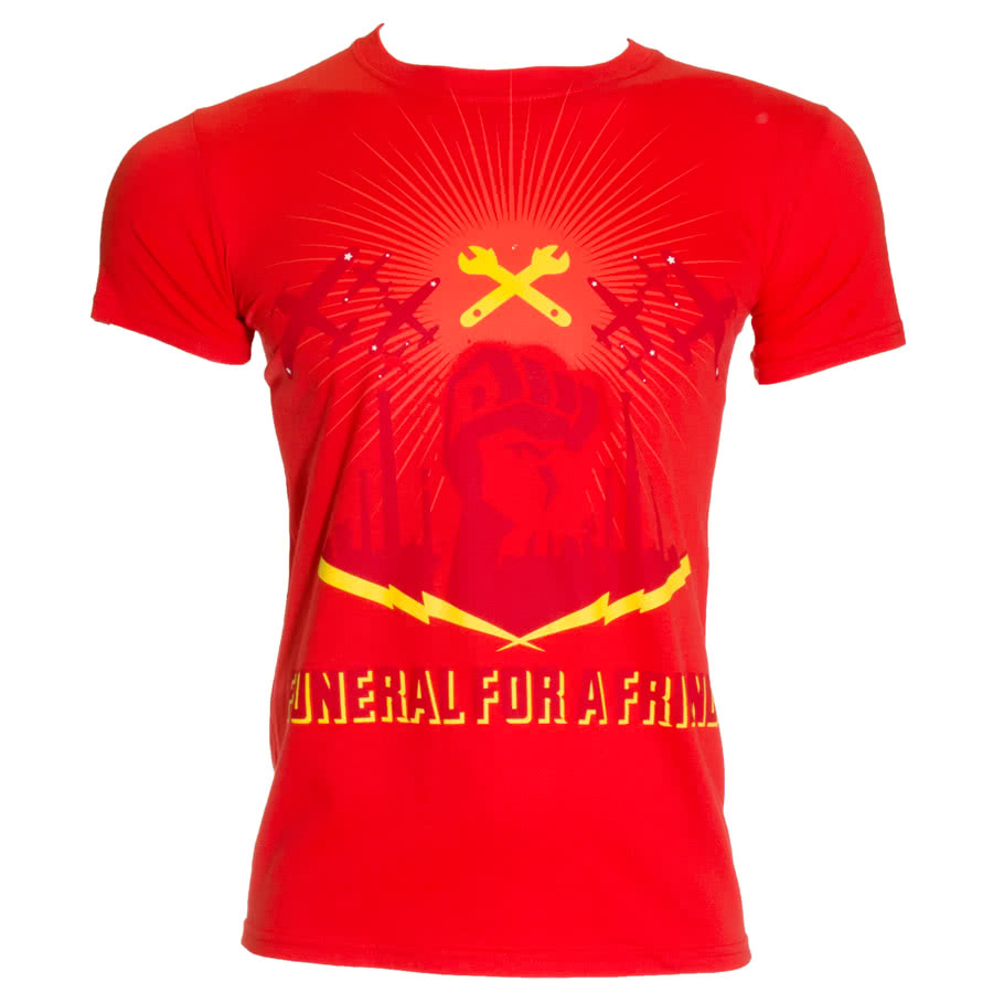 Funeral For A Friend Wrench T Shirt (Red)