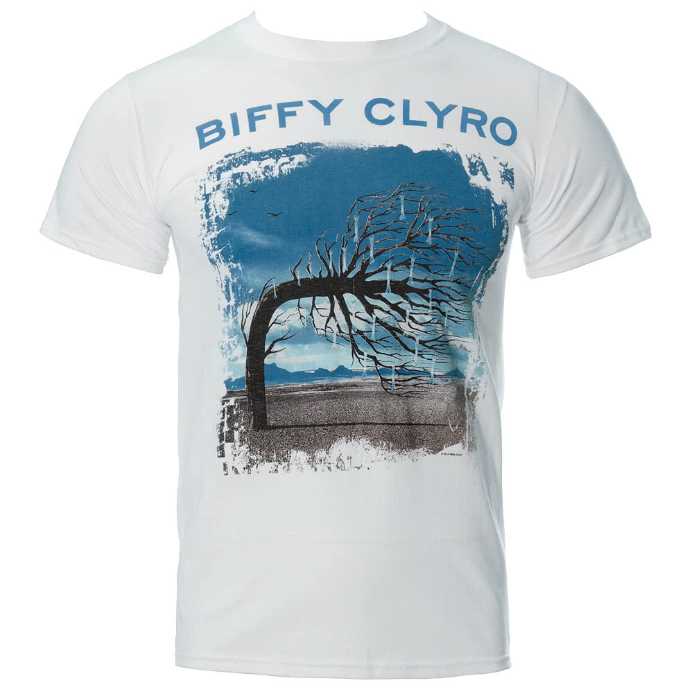 Biffy Clyro Opposites T Shirt (White)