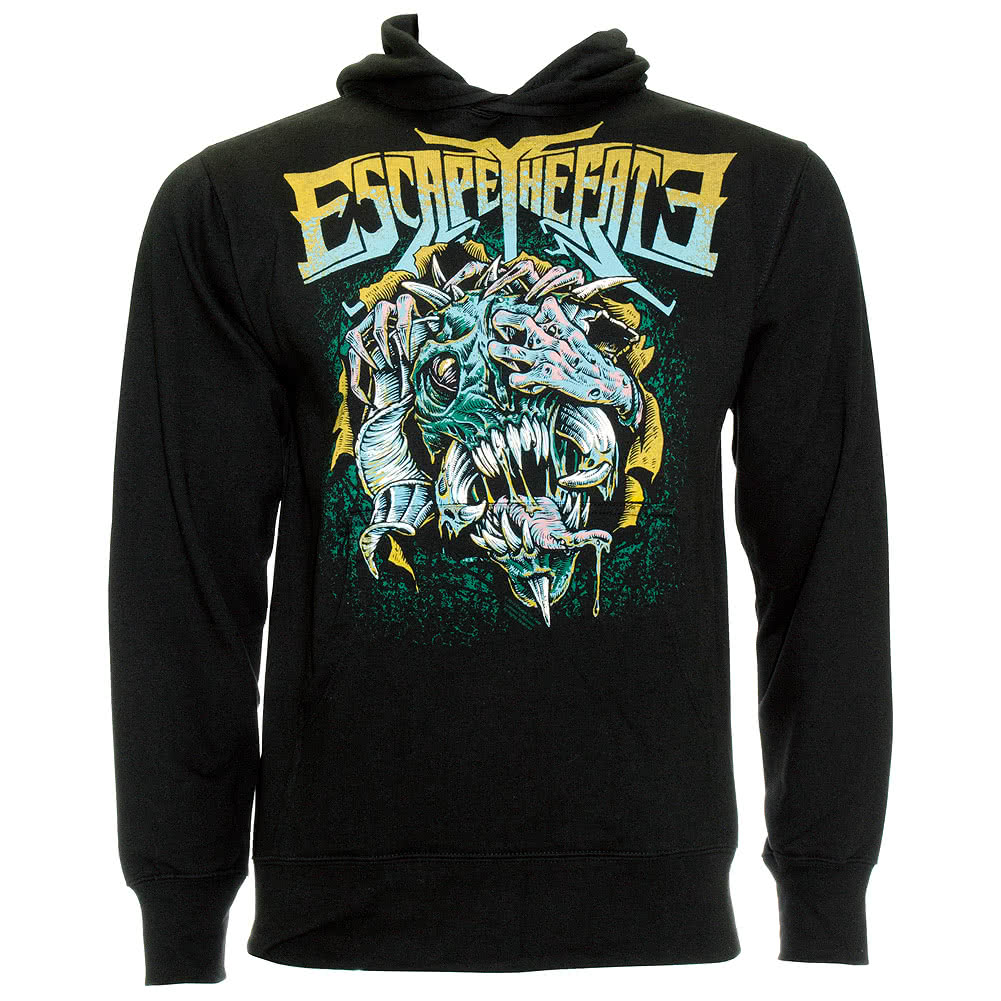 Escape The Fate Stressed Hoodie (Black)