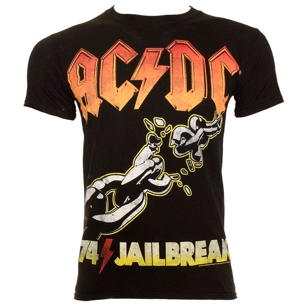 AC/DC Jailbreak 74 T Shirt (Black)