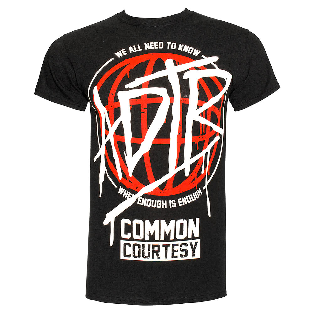 A Day To Remember Drip T Shirt (Black)