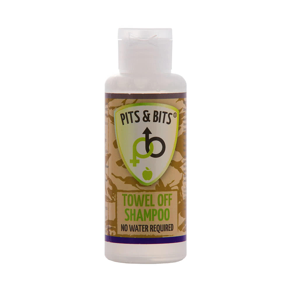 Pits & Bits Towel Off Waterless Shampoo 65ml