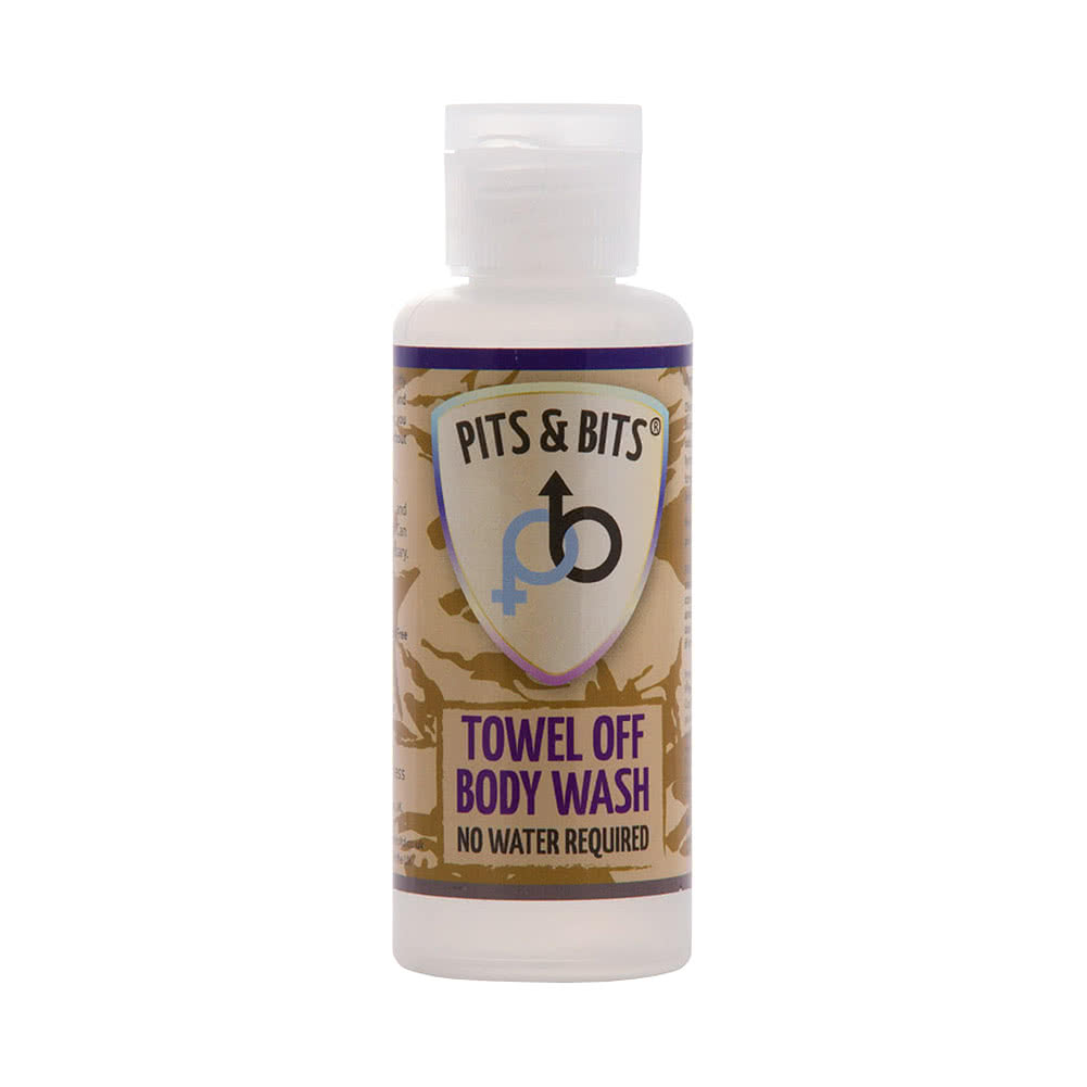 Pits & Bits Towel Off Waterless Body Wash 65ml