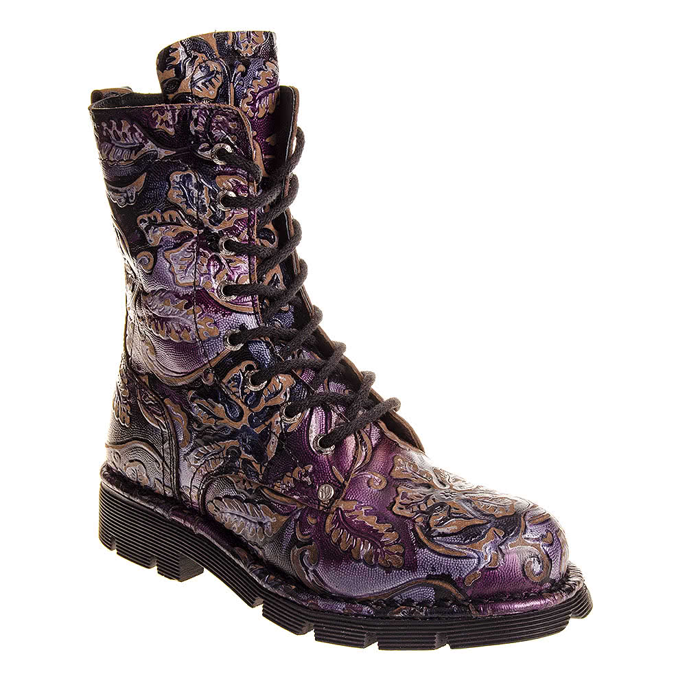 New Rock Boots Style M1423 C Lila (Purple)