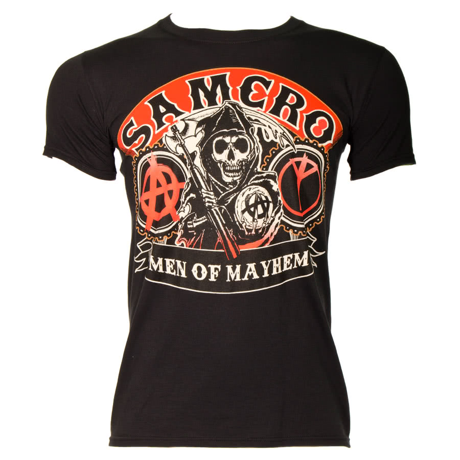 Sons Of Anarchy Samcro Reaper T Shirt (Black)
