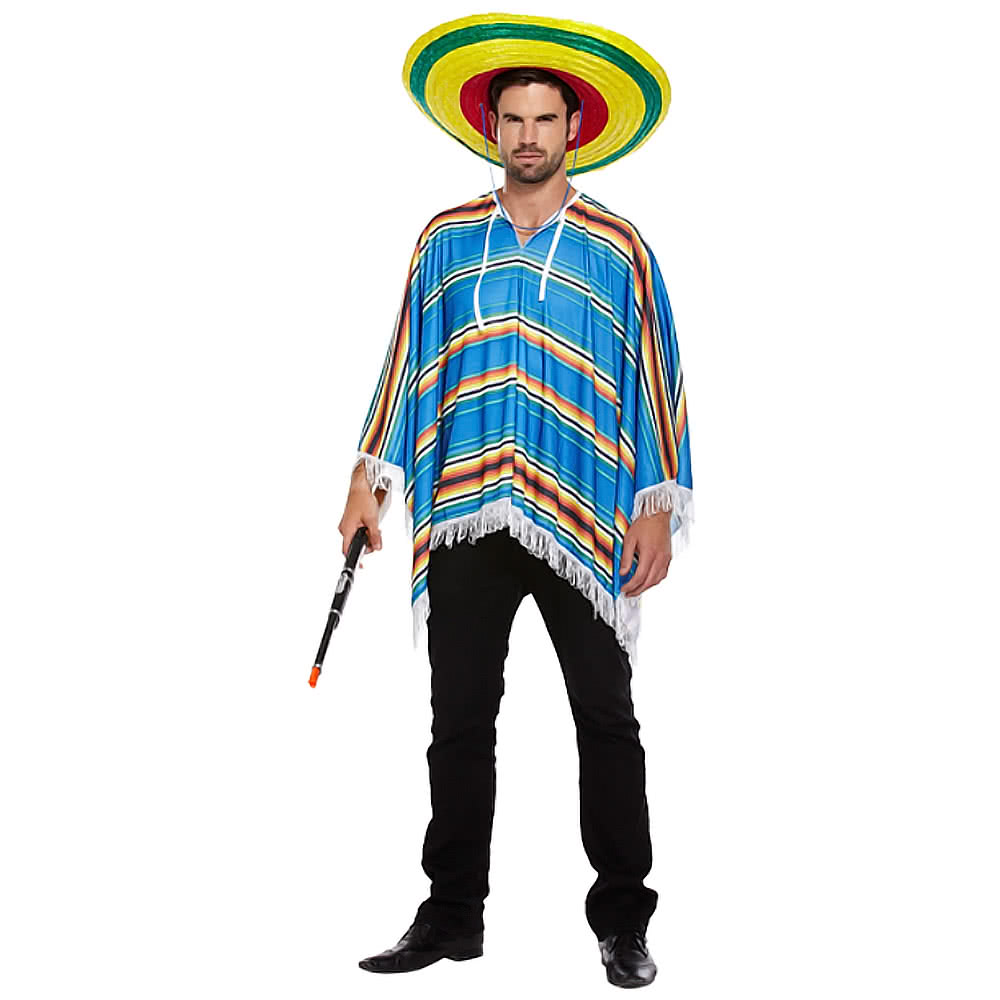 Poncho Fancy Dress Costume