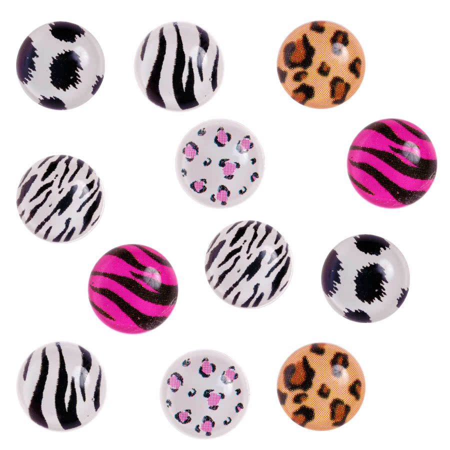 Blue Banana 3D Bubble Nail Art Circles (Multi-Coloured)