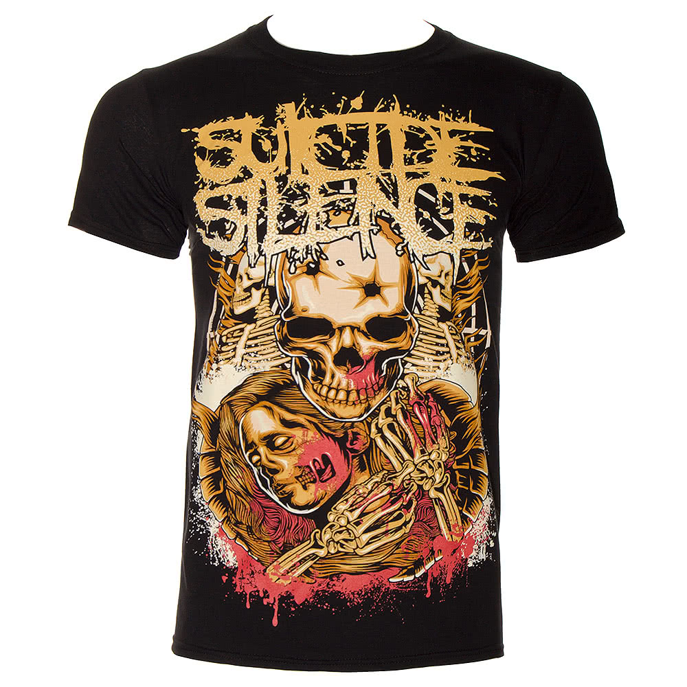 Suicide Silence Love Lost T Shirt (Black)