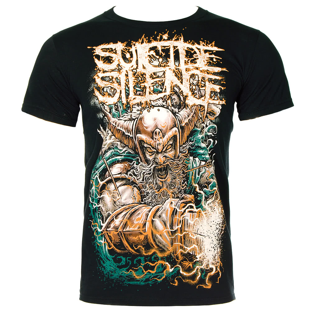 Suicide Silence Viking T Shirt (Black)