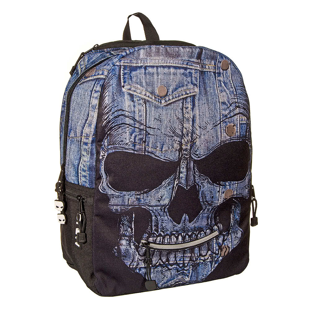 Mojo Denim Mr Peterson Backpack (Black)