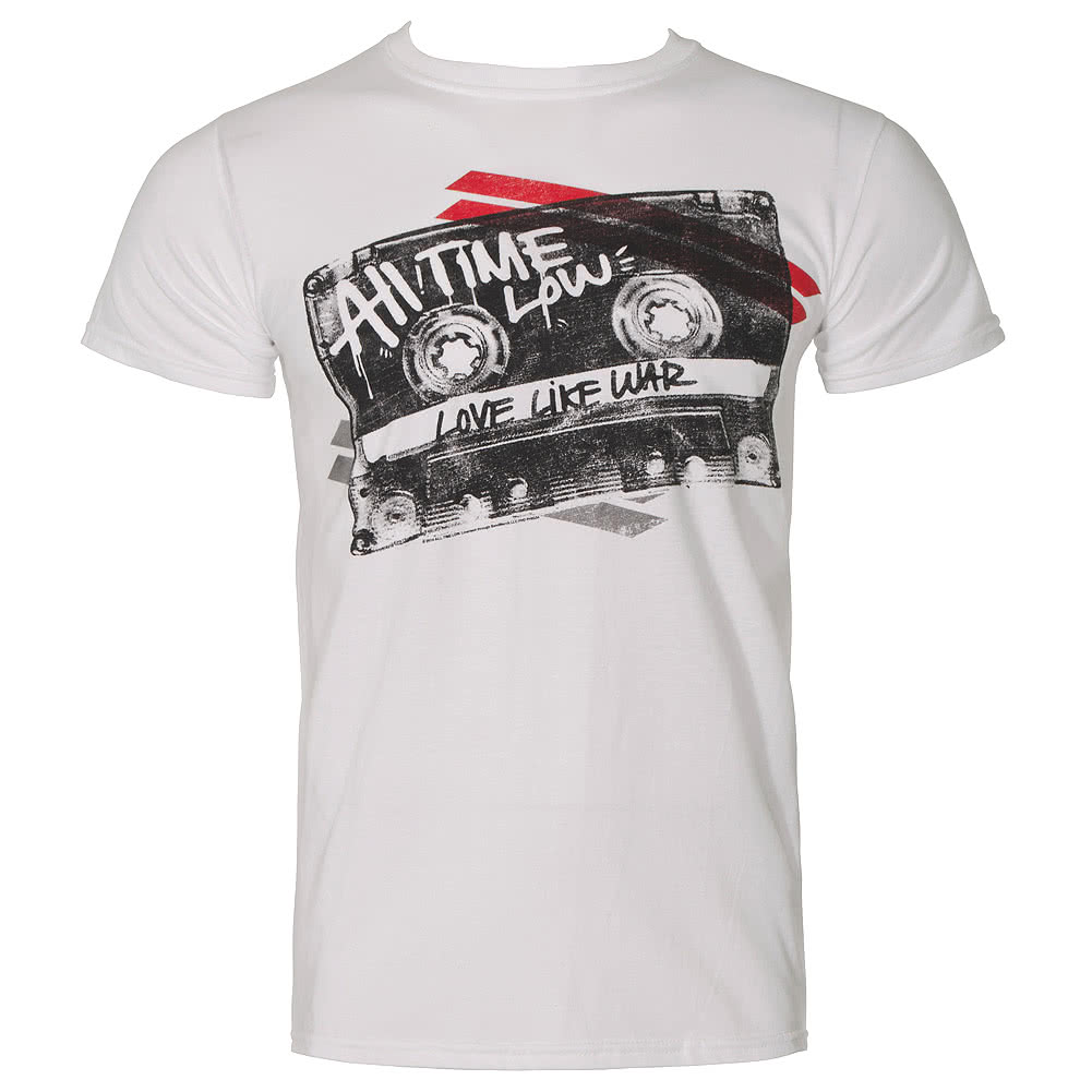 All Time Low Mix Tape T Shirt (White)