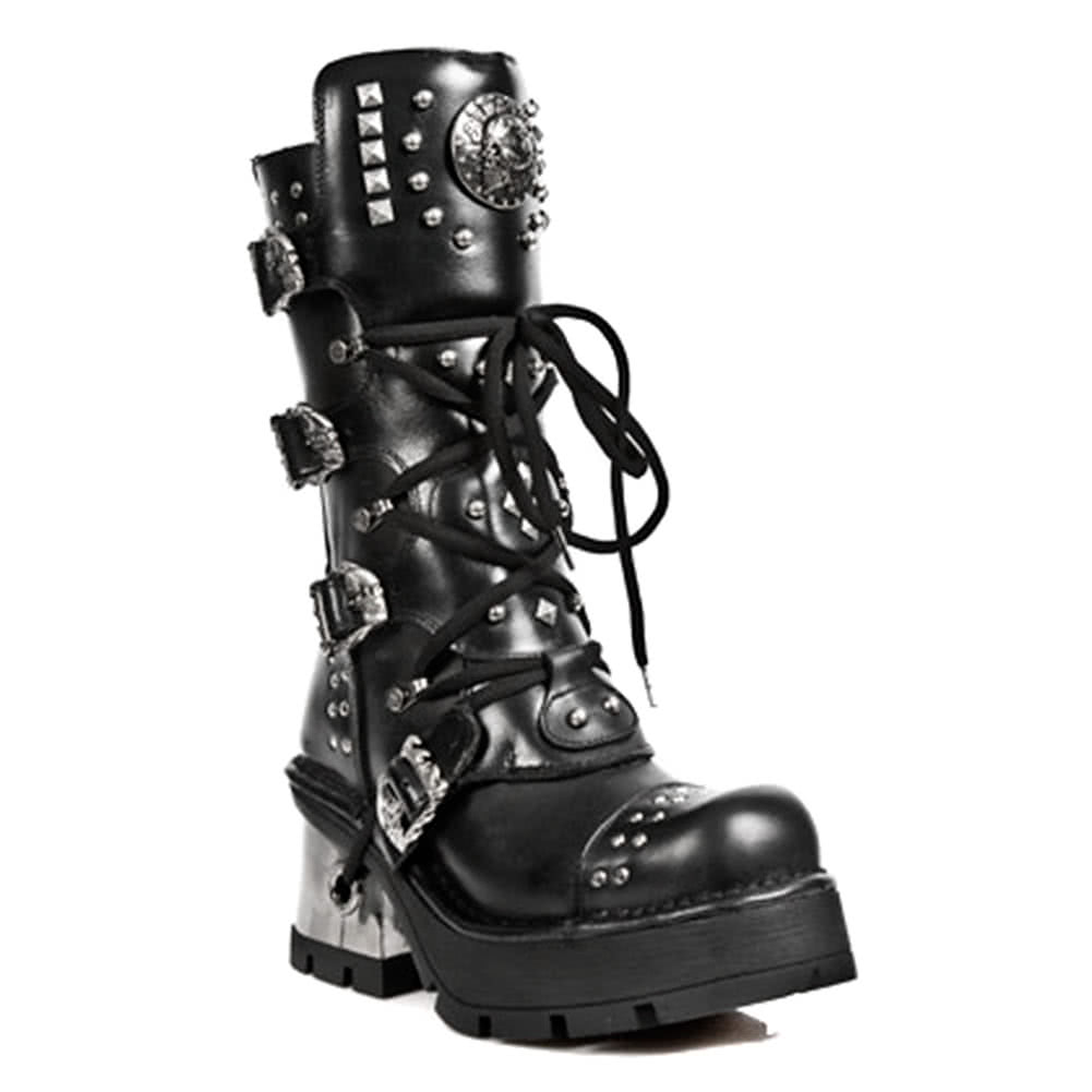 New Rock Boots Style M1029-S1 (Black)