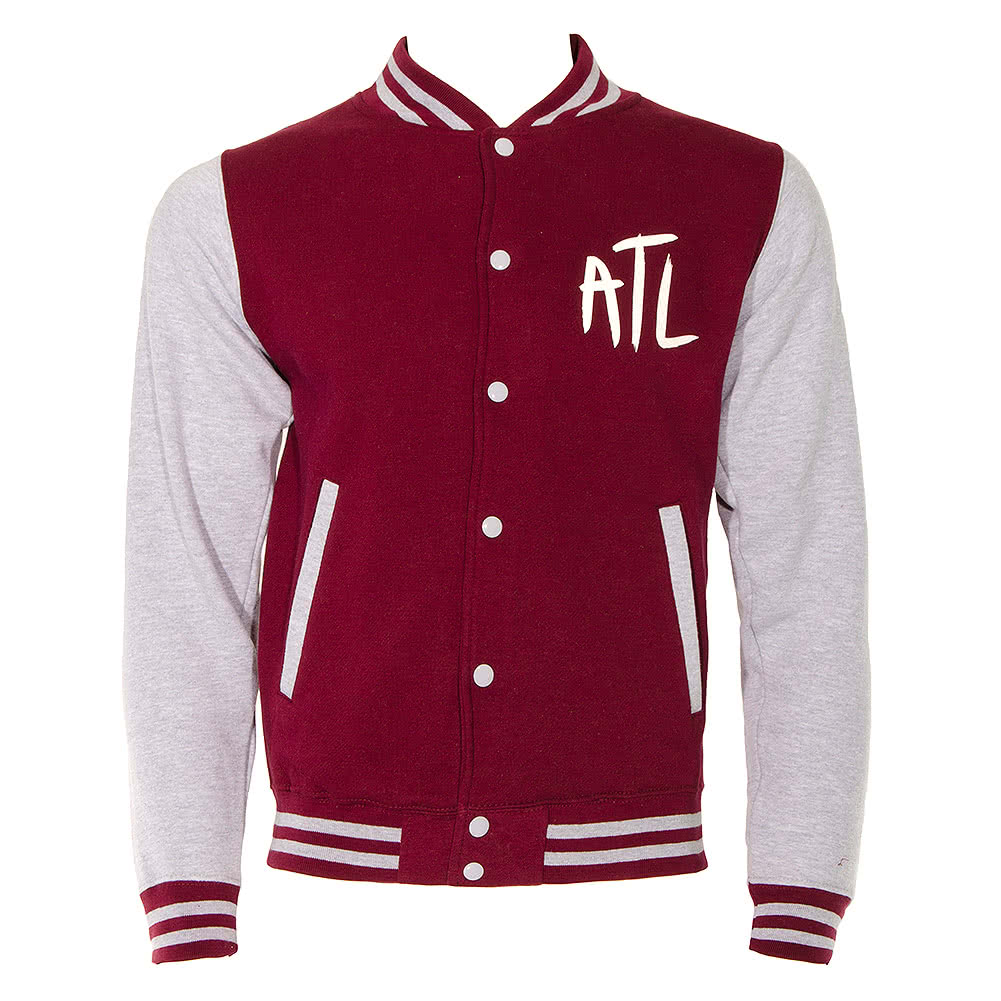 All Time Low Varsity Jacket (Maroon)