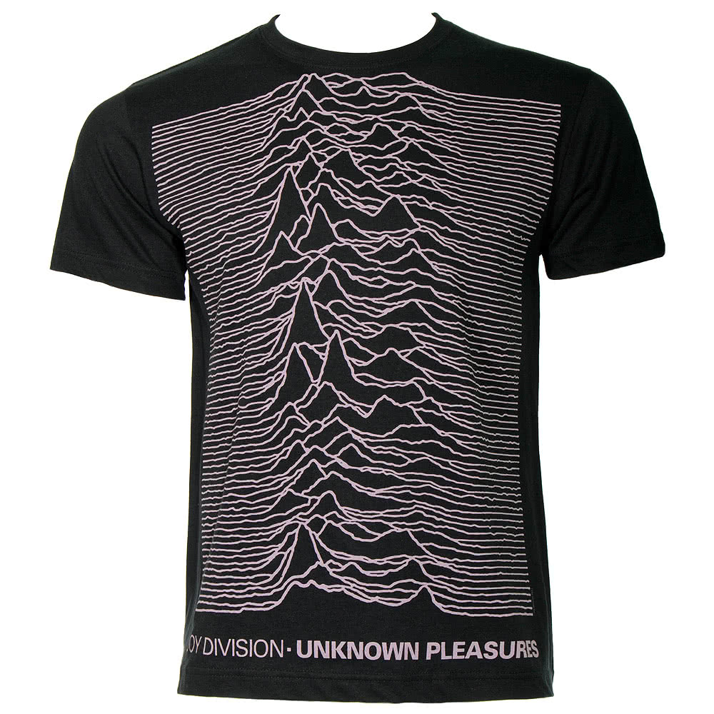Joy Division Unknown Pleasures T Shirt (Black)