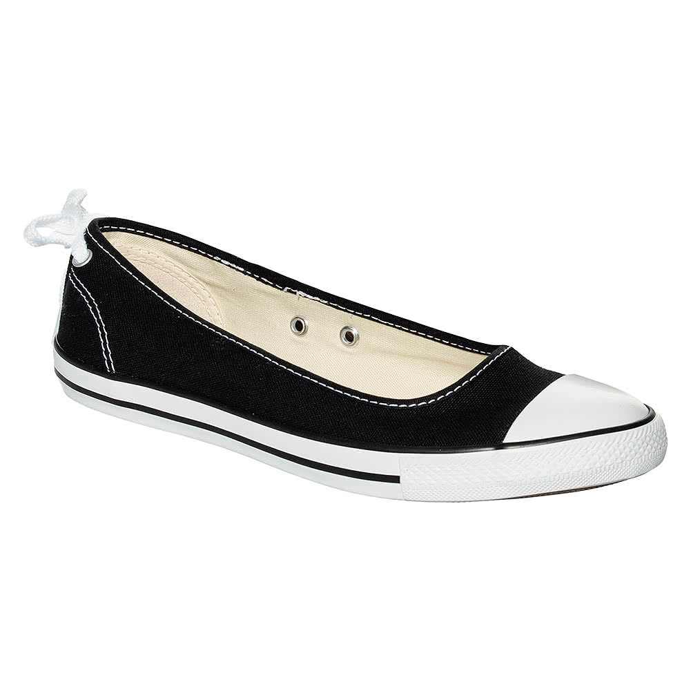 Converse Dainty Ballerina Shoes (Black)
