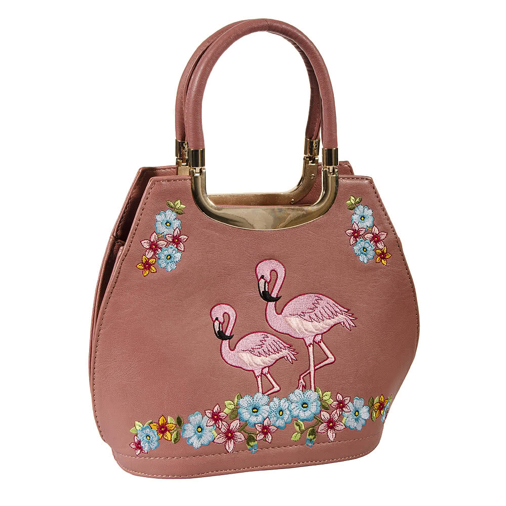 Banned Flamingos Bag (Pink)