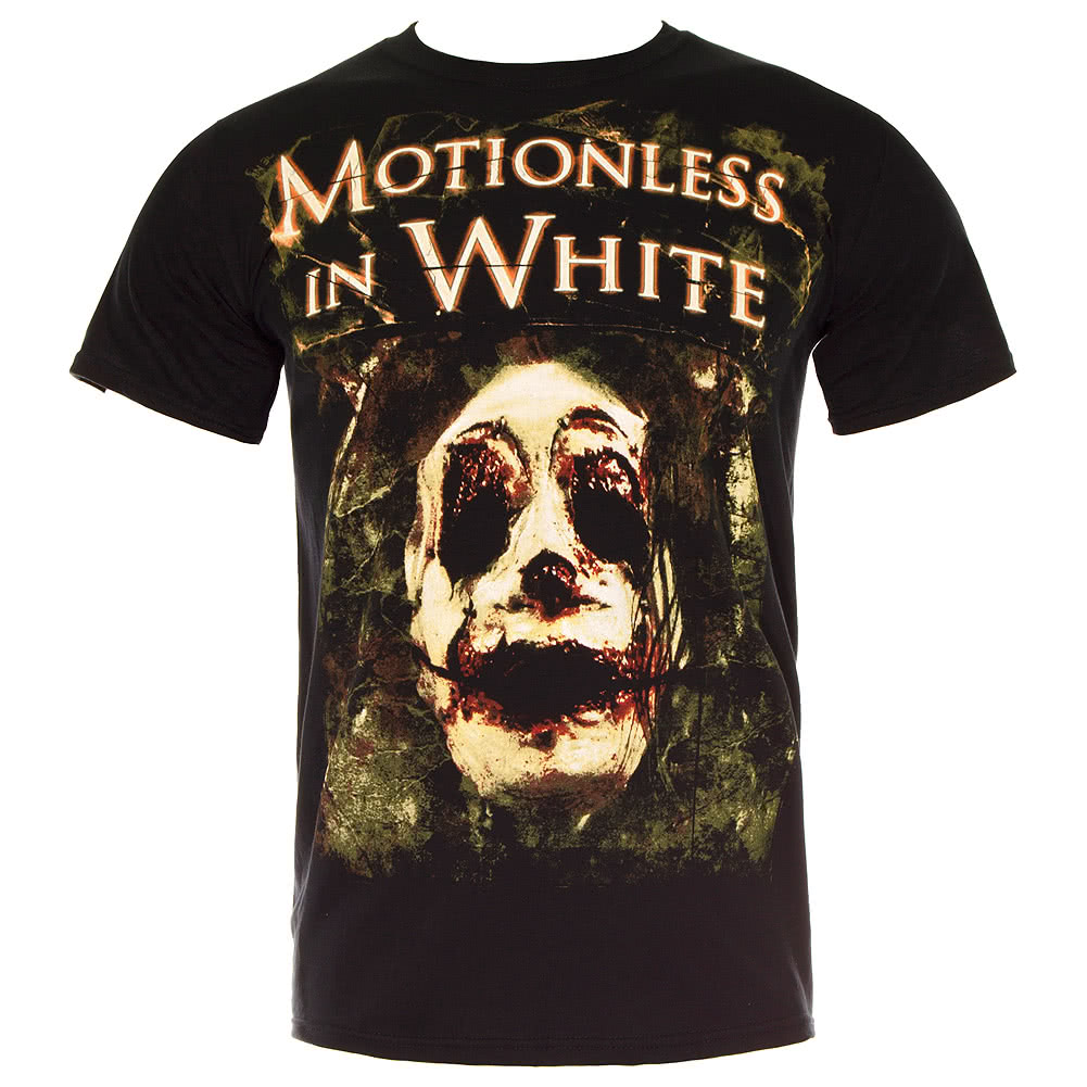 Motionless In White Unmerciful Horror T Shirt (Black)