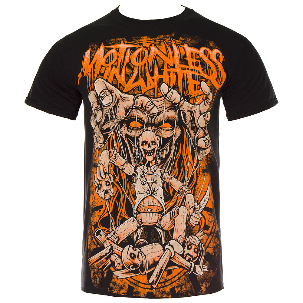 Motionless In White Puppetfix T Shirt (Black)