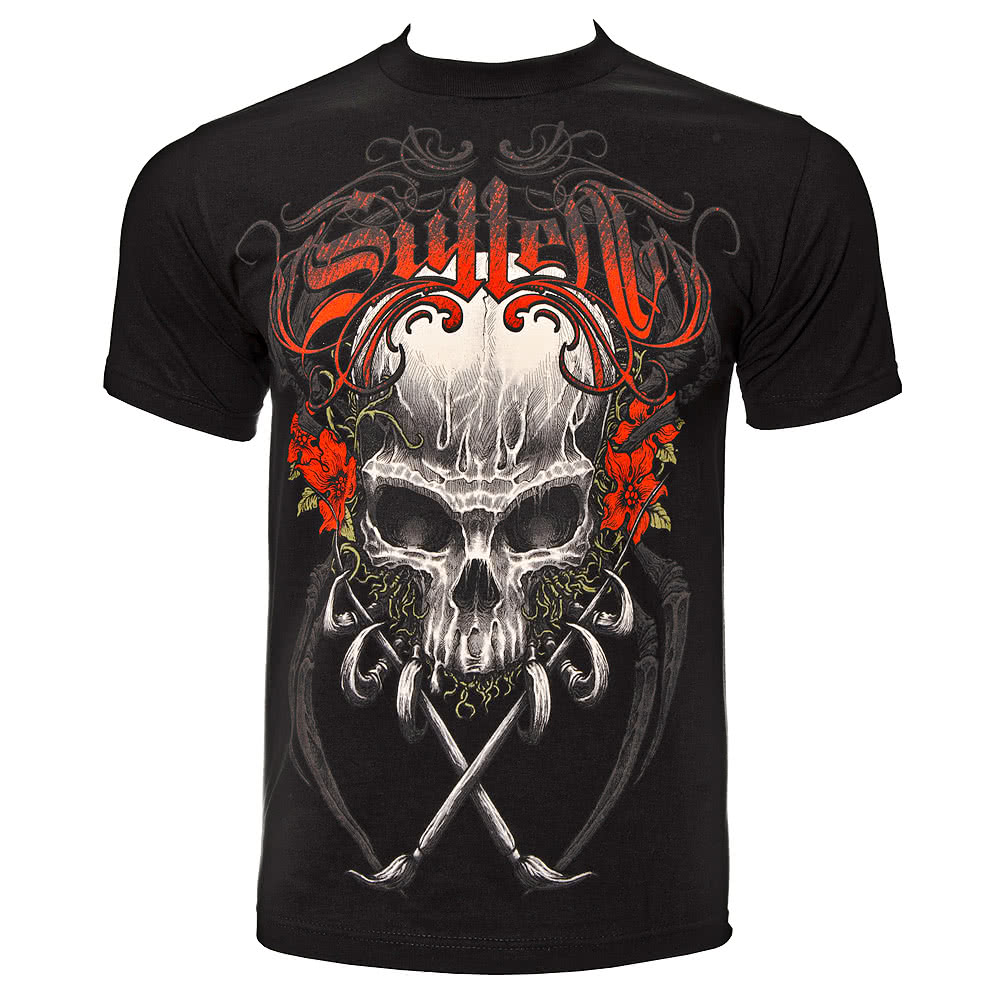 Sullen Death Badge T Shirt (Black)