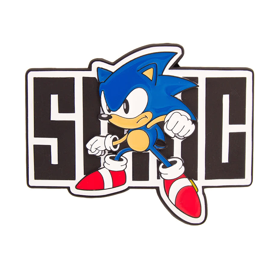 SEGA Sonic Full Body Belt Buckle (Multi-Coloured)