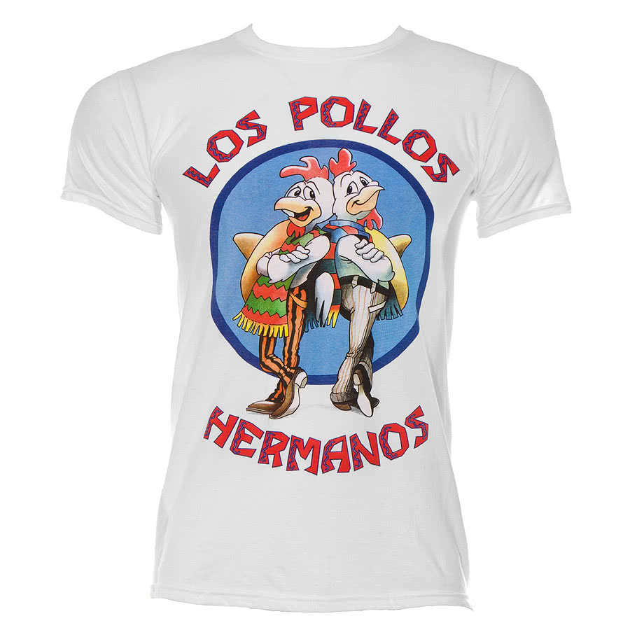 Breaking Bad Los Pollos T Shirt (White)