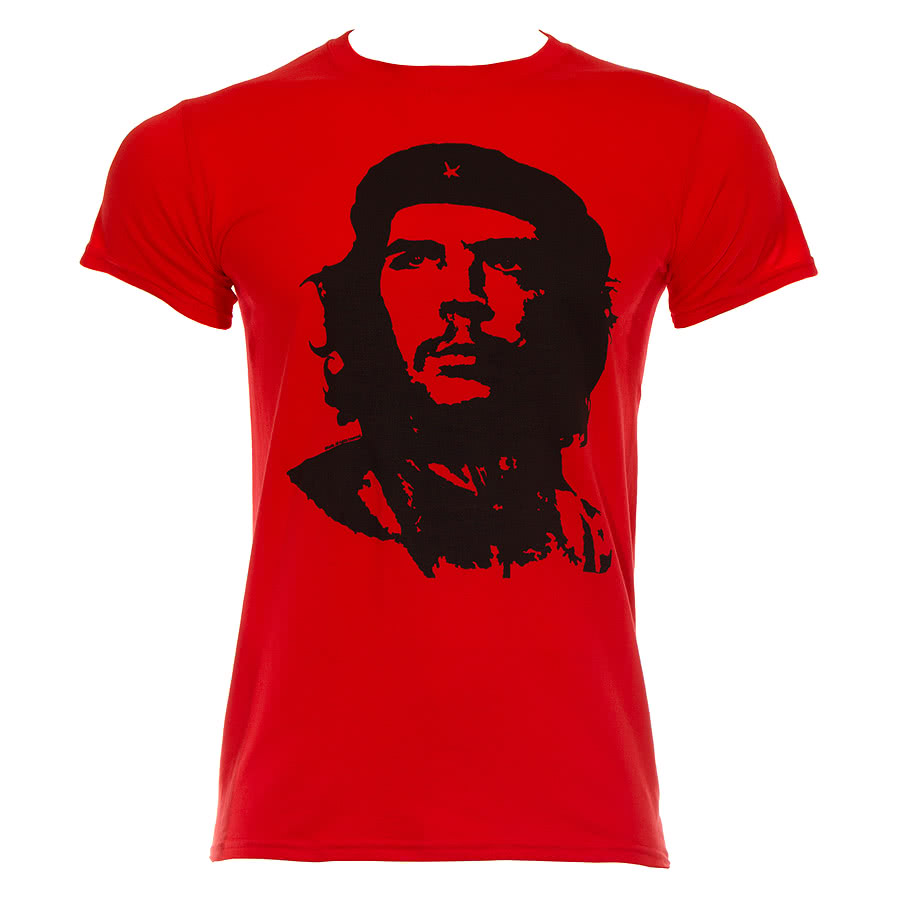 Che Guevara Red Face T Shirt (Red)