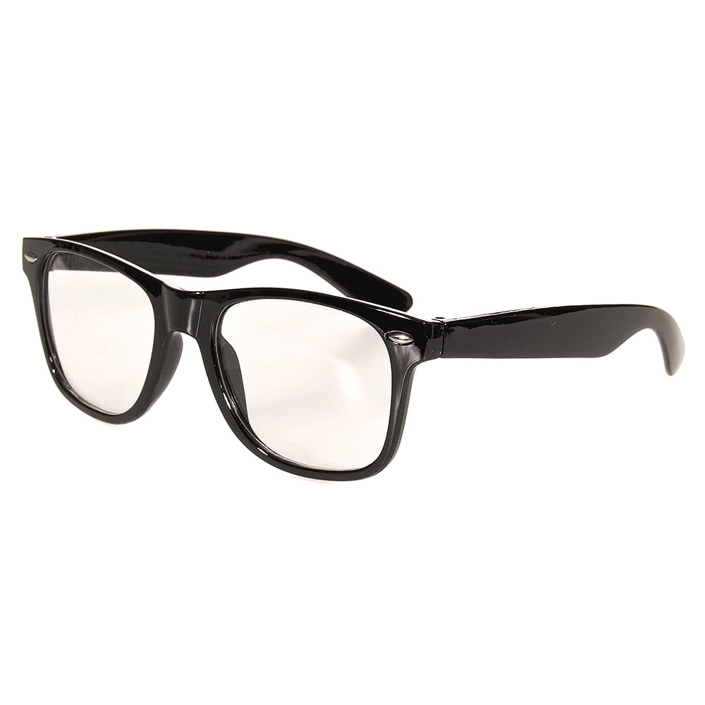 Blue Banana Geek Glasses (Black)