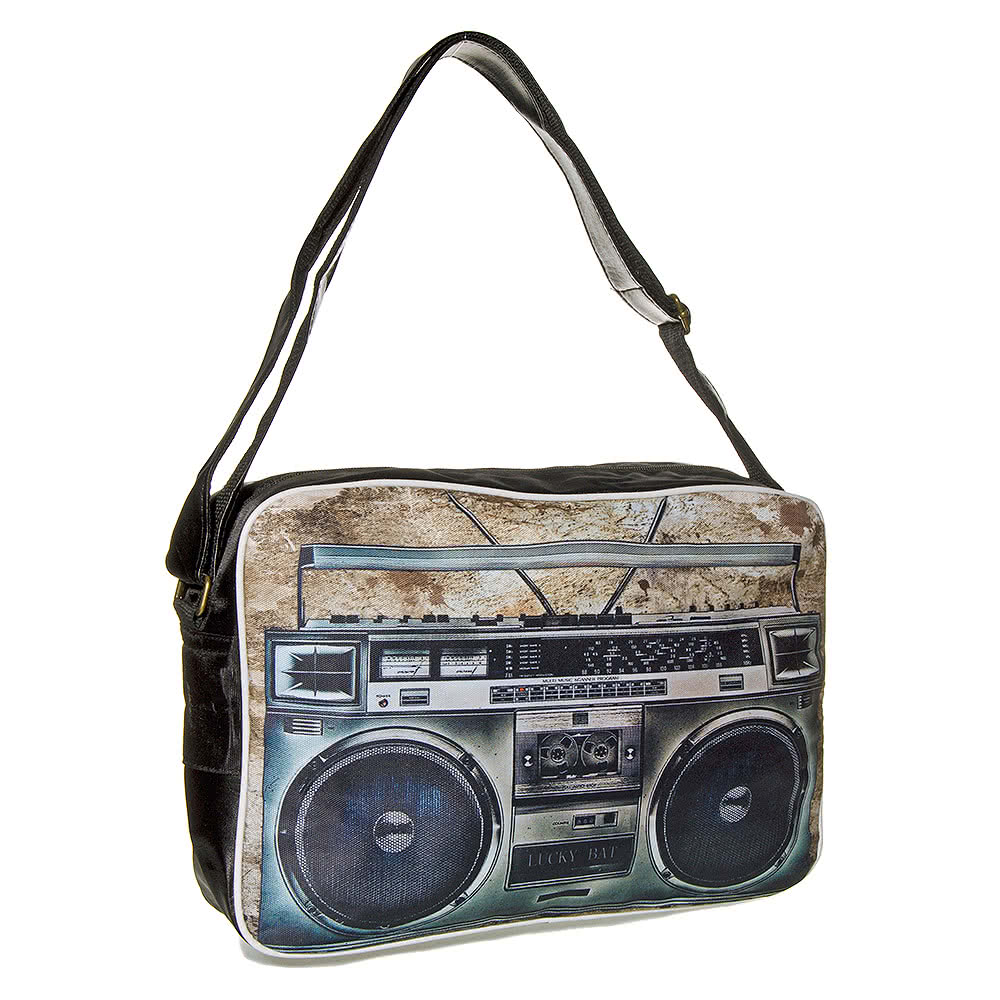 Blue Banana Boombox Flight Bag