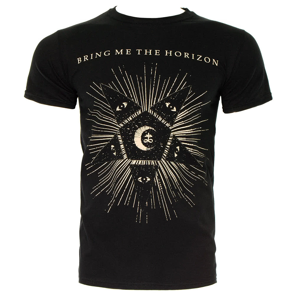 Bring Me The Horizon Star T Shirt (Black)