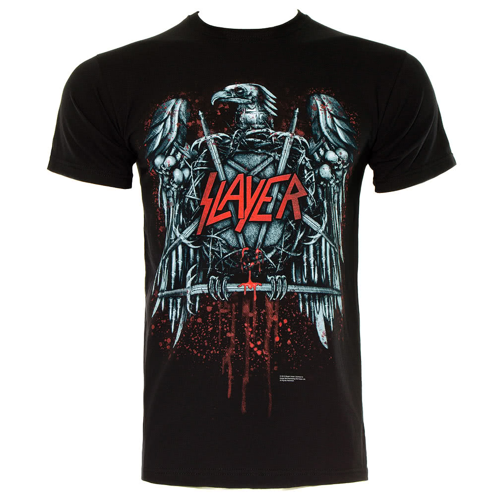 slayer ammunition t shirt black blue banana uk. Black Bedroom Furniture Sets. Home Design Ideas