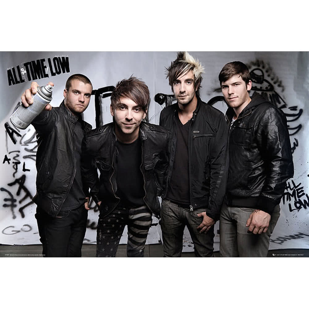 All Time Low Spray Poster