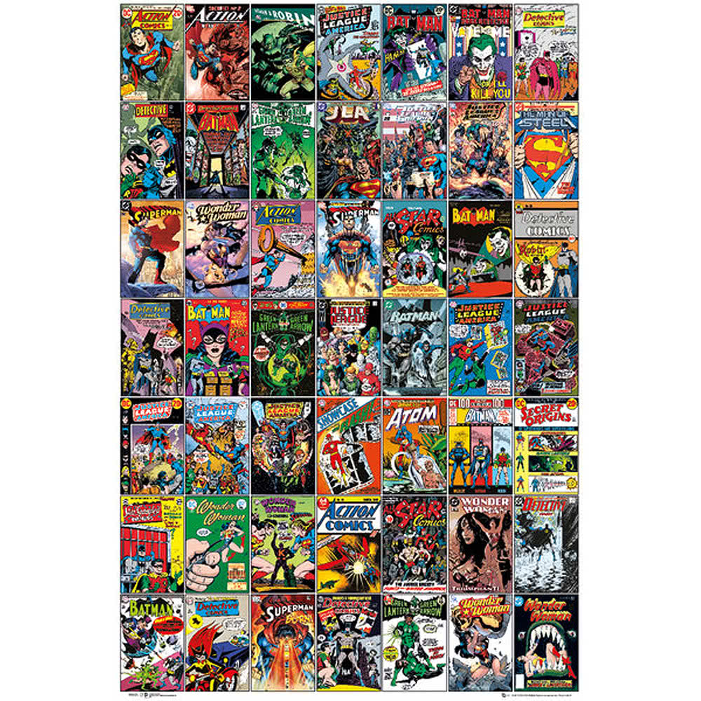 DC Covers Poster