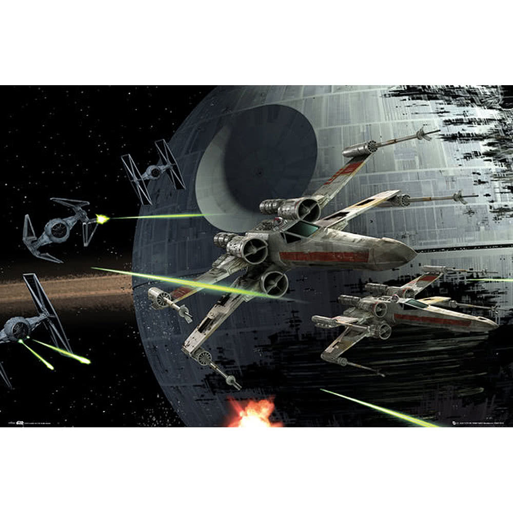 Star Wars Battle Poster