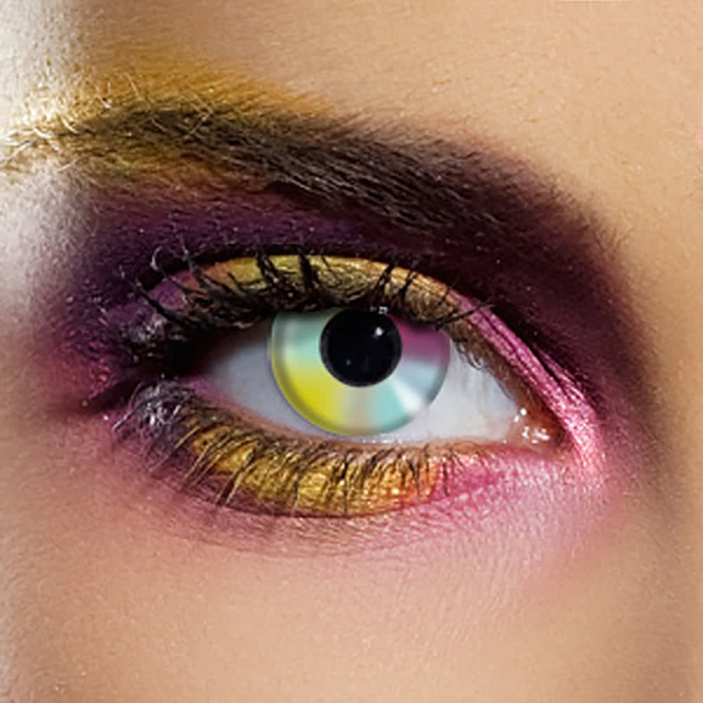 EDIT 90 Day Coloured Contact Lenses (Rainbow)