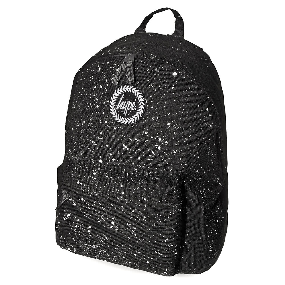 Hype Speckle Backpack (Black)