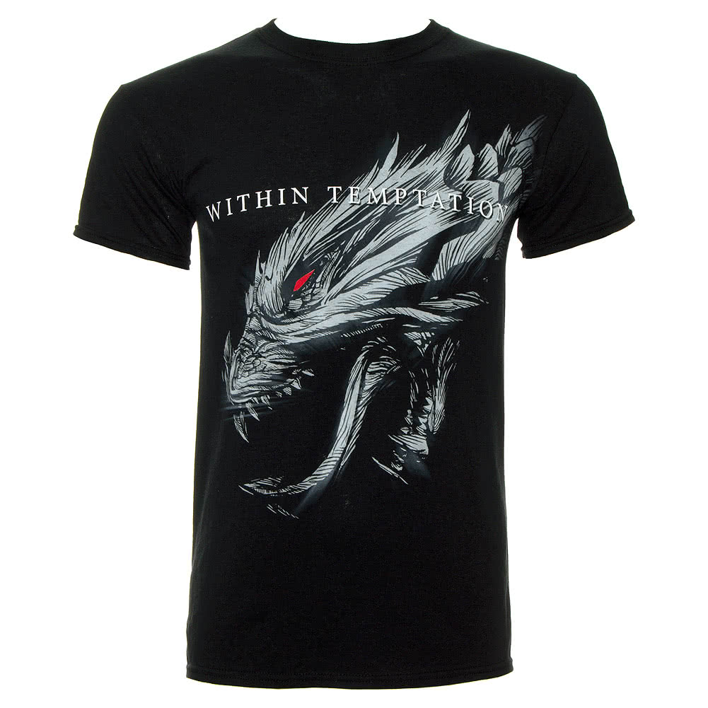 Within Temptation Giant Hydra T Shirt (Black)