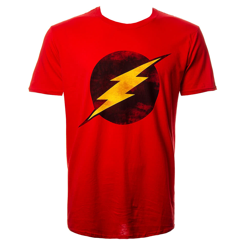 DC Comics The Flash Logo T Shirt (Red)