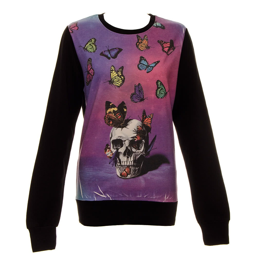 Cold Heart Metamorphosis Sweater (Purple)