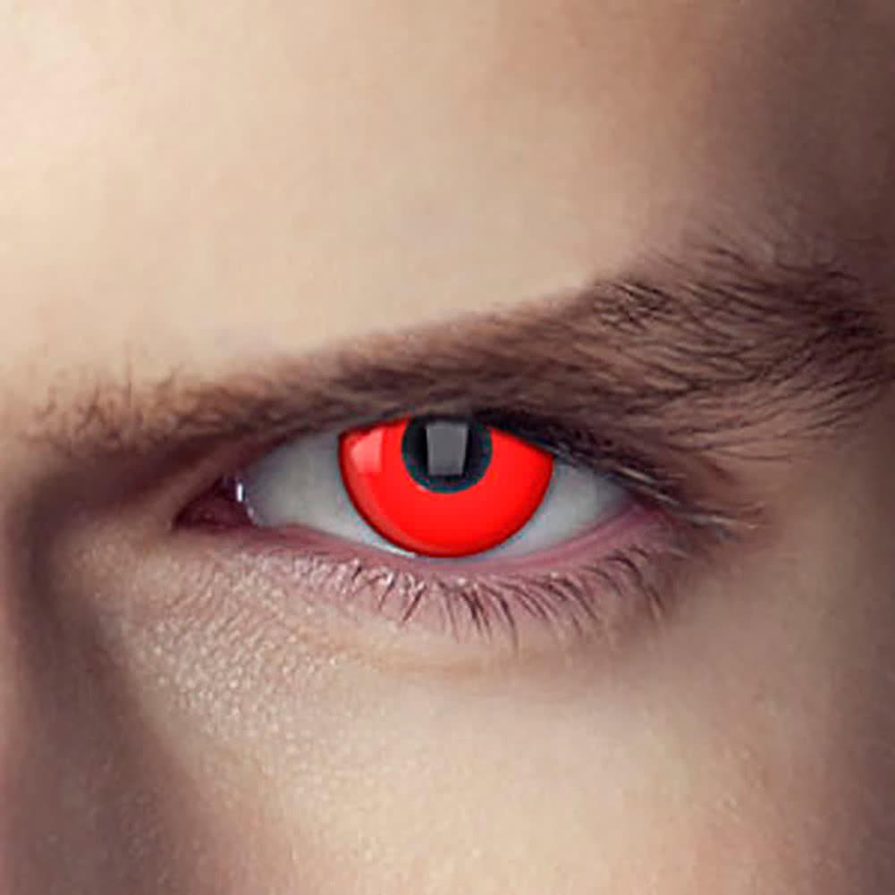 EDIT 90 Day Terminator  Coloured Contact Lenses (Cyborg Assassin)