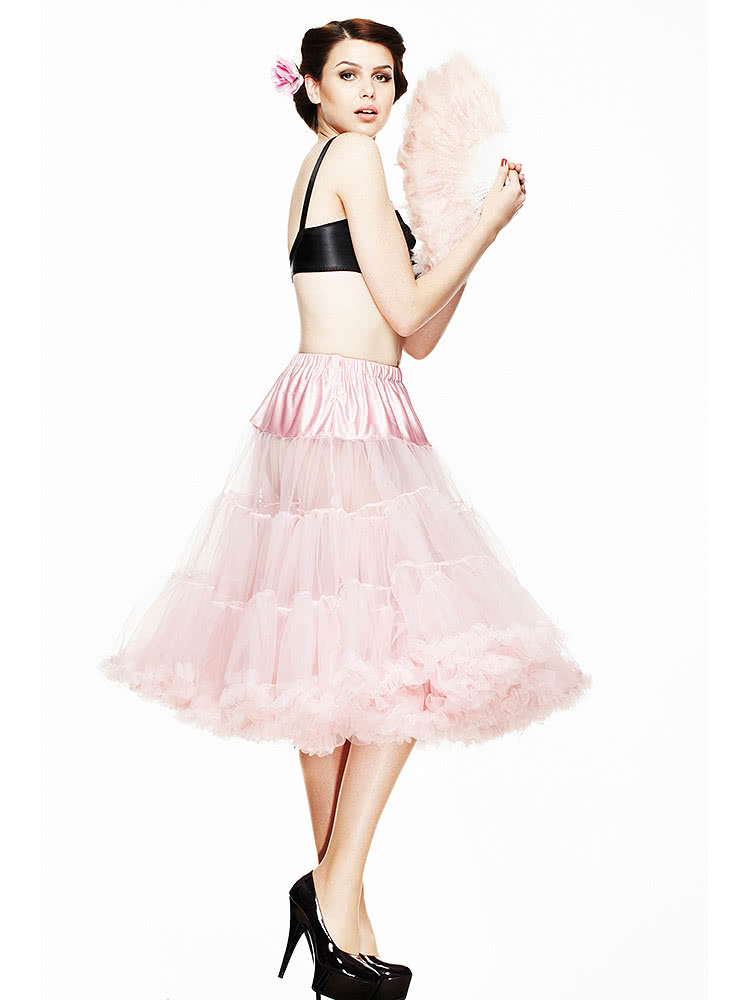 Hell Bunny Long Petticoat (Dolly Pink)