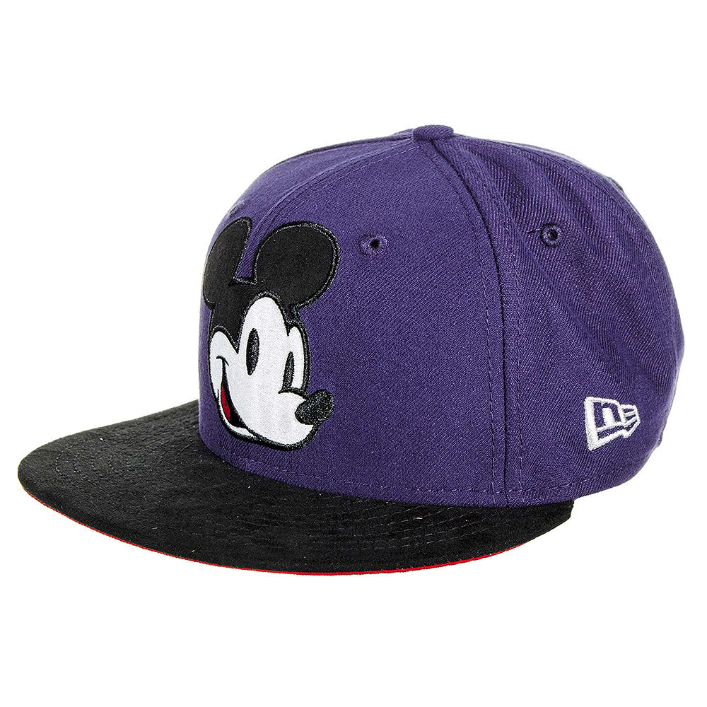 New Era Snapback Mickey Mouse Cap (Indigo)