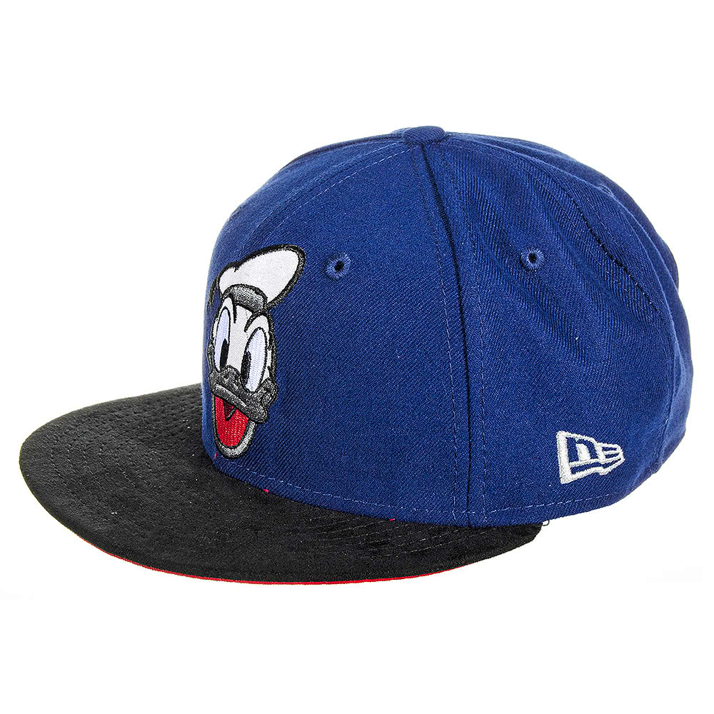 New Era Snapback Donald Duck Cap (Navy)