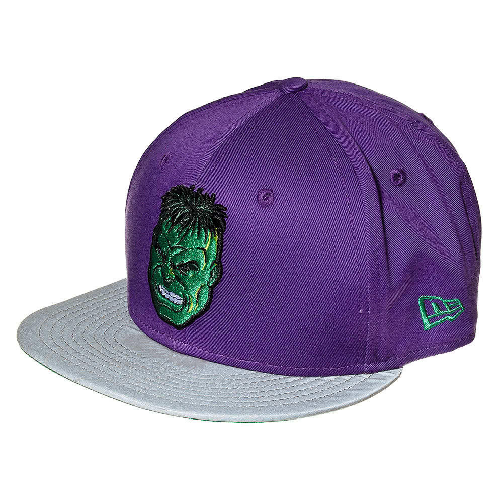 New Era The Incredible Hulk Reflective Baseball Cap (Purple)