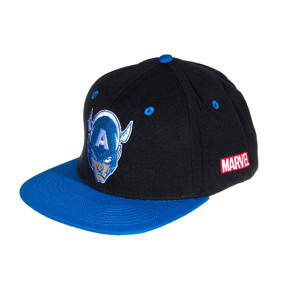 Marvel Comics Captain America Classic Cap (Black/Blue)